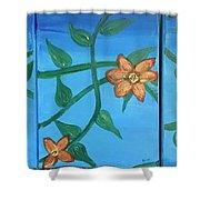 Amor Omnia Vinvit Shower Curtain