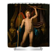 Amor Triumphant Shower Curtain
