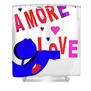 Amore Love Shower Curtain