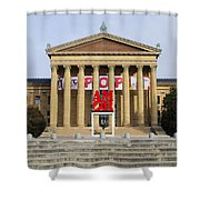 Amore - The Philadelphia Museum Of Art Shower Curtain