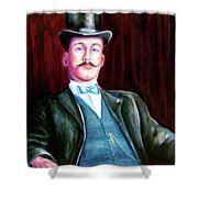 Amos Mckay Shower Curtain
