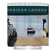 Amphicar Launch Shower Curtain