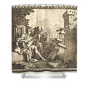 Amphion Shower Curtain