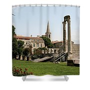 Amphitheater Ruins - Arles - France Shower Curtain