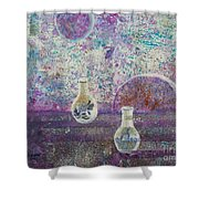 Amphora-through The Looking Glass Shower Curtain