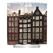 Amsterdam Architectre At Twilight Shower Curtain