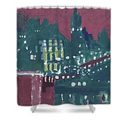 Amsterdam At 4am Shower Curtain