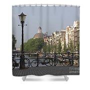 Amsterdam Bridge Shower Curtain