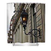 Amsterdam Carriage Light Shower Curtain