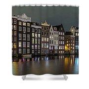 Amsterdam City Lights Shower Curtain