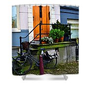 Amsterdam Door Shower Curtain