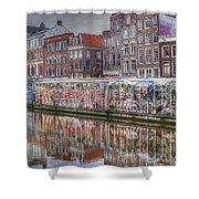 Amsterdam Flower Market Shower Curtain