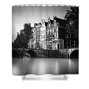 Amsterdam, Keizersgracht Shower Curtain