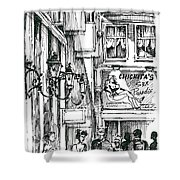 Amsterdam Red District  Shower Curtain