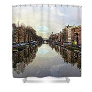 Amsterdam Reflected Shower Curtain