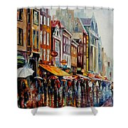 Amsterdam's Rain Shower Curtain