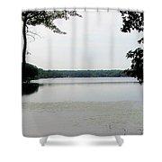 Amston Lake Shower Curtain