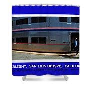 Amtrak San Luis Obispo Shower Curtain