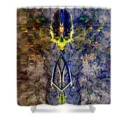 Amulet Shower Curtain