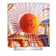 Amusement Rides Shower Curtain