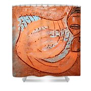 Amuweeke - Tile Shower Curtain
