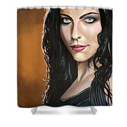 Amy Lee Shower Curtain