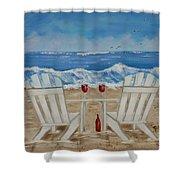 Amy's Beach Shower Curtain