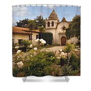 Amy's Carmel Shower Curtain