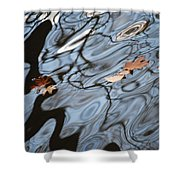 An Abstract Reality II Shower Curtain