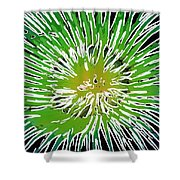 An Abstract Scene Of Sea Anemone 2 Shower Curtain