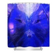An Alien Visage  Shower Curtain