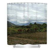 An Amazing View Shower Curtain