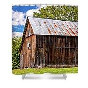 An American Barn 2 Shower Curtain