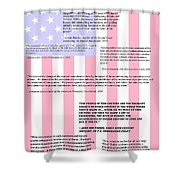 An American Traditition Shower Curtain