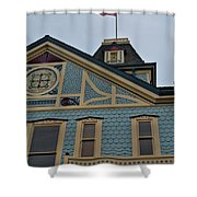 An American Victorian Shower Curtain