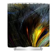 An Angry Moment Shower Curtain