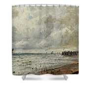 An April Day Shower Curtain