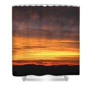 An Astounding Sky Shower Curtain