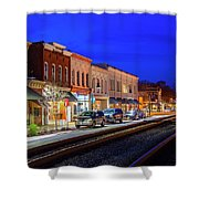 An Early Evening In Ashland Shower Curtain