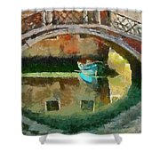 An Early Morning In Venice Shower Curtain