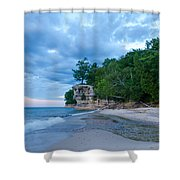 An Evening At The Chapel Shower Curtain