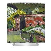 An Evening At The Garden Of Eden Shower Curtain