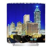 An Evening In Atlanta Shower Curtain