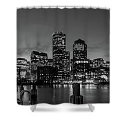 An Evening In Boston Shower Curtain