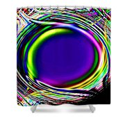 An Eye For Color Shower Curtain