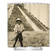 An Informal Portrait Of Photographer Shower Curtain