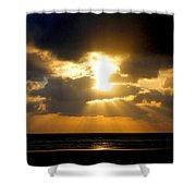 An Inspiring Evening Shower Curtain