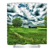 An Iowa Farm Shower Curtain