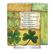 An Irish Blessing Shower Curtain