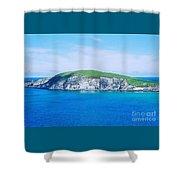 An Island In Ireland Shower Curtain
